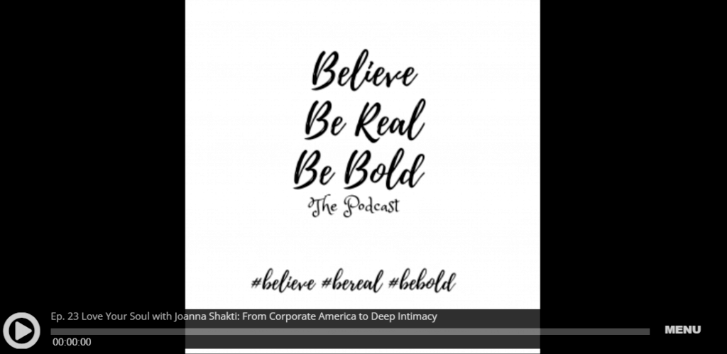 Believe Be Real Be Bold
